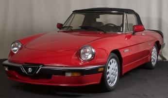 1986 Alfa Romeo Spider Quadrifoglio