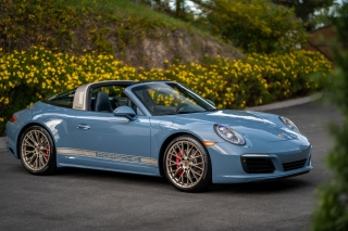 2017 Porsche 911 Targa 4S Exclusive Design Edition