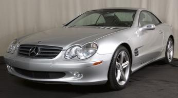 2004 Mercedes Benz SL 500