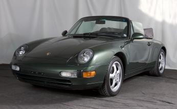 1997 Porsche 993 Carrera Cabriolet
