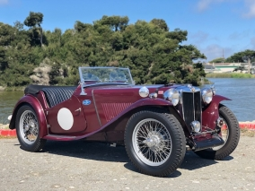 1949 MG TC Supercharged