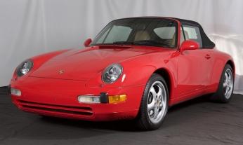 1997 Porsche 993 Cabrio