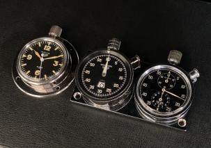 Heuer Autavia, Monte-Carlo, and Navia Timers