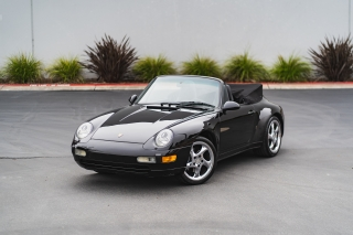1996 Porsche 911 Carrera Cabriolet 6-Speed