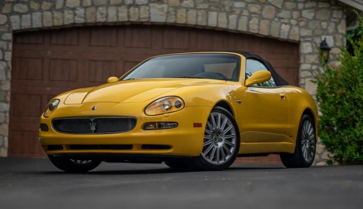 2002 Maserati Spyder 4200 Gt For Sale Mohr Imports