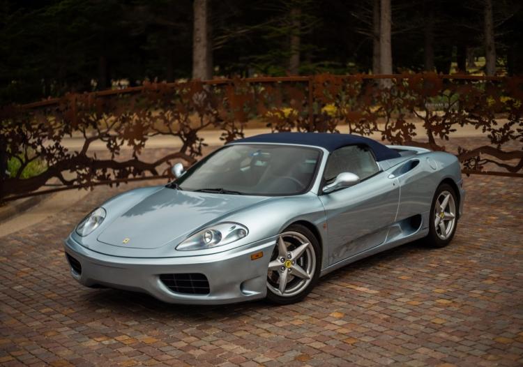 2002 Ferrari 360 Spider
