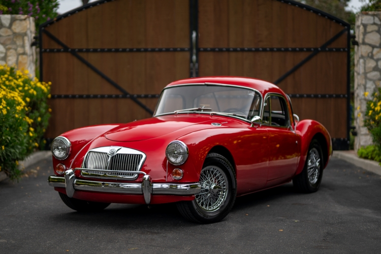 34-Years-Owned 1962 MG MGA 1600 Mk II Coupe