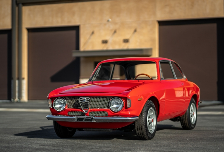 1965 Alfa Romeo Sprint GT Project