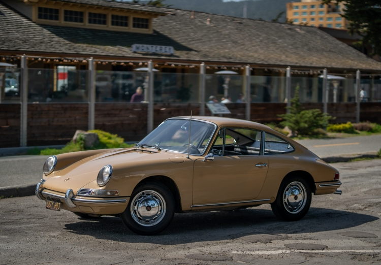 Black-Plate 1967 Porsche 912 Coupe