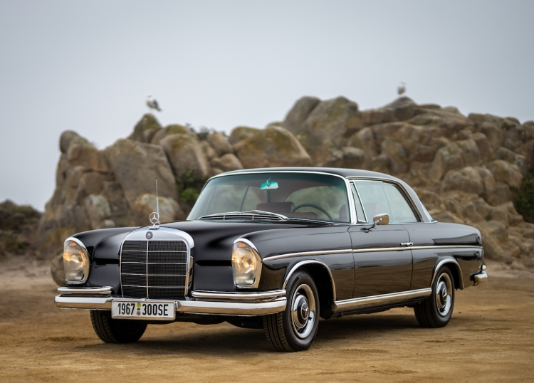 1967 Mercedes Benz 300 SE Coupe