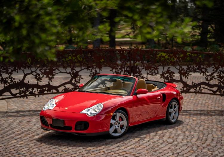 2004 Porsche 911 Turbo Cabriolet X50 6-Speed
