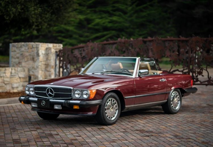 1988 Mercedes 560 SL