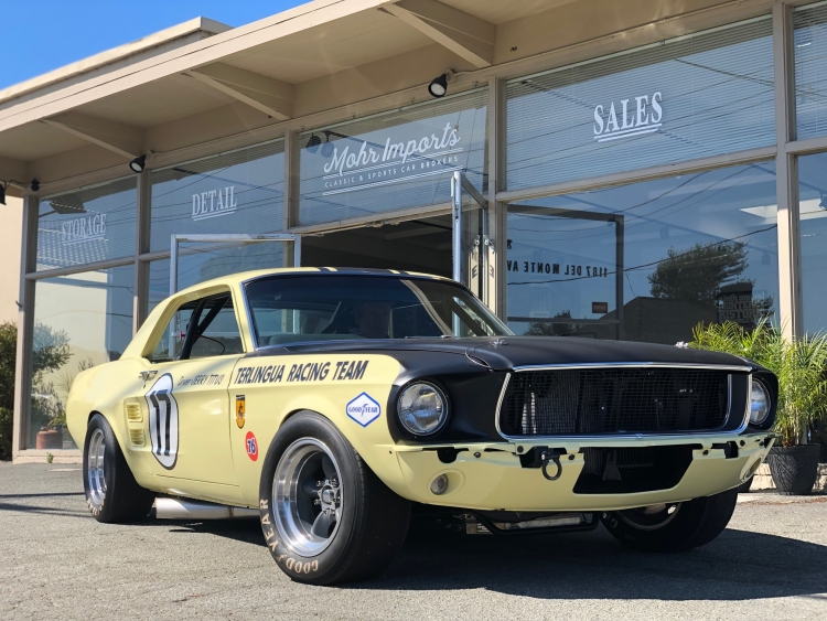 1967 Ford Mustang Jerry Titus Tribute