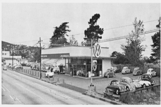 A vintage photo from the mid 60's of our current location in Monterey.